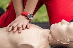 hjärt-lungräddning